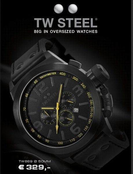 TW Steel TW Steel TW869 Canteen Style Special Edition Watch DEMO
