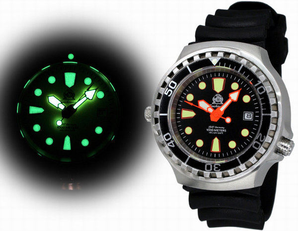 Tauchmeister Tauchmeister T0264 automatic divers watch 100 ATM