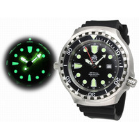 Tauchmeister Tauchmeister T0266 automatic diver XL watch 100 ATM