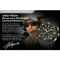 TW Steel TW Steel CE4017 CEO Tech Emerson Fittipaldi watch limited edition