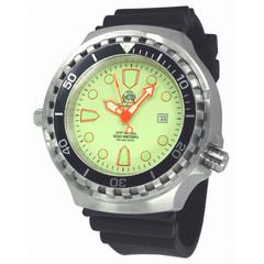 Tauchmeister T0269 automatic XL diver watch 100 bar