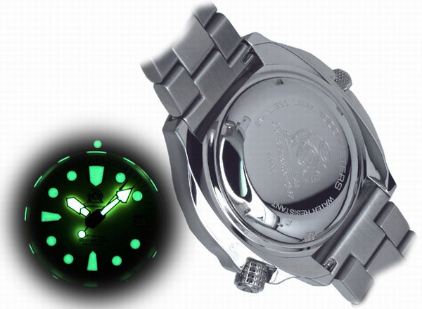 Tauchmeister Tauchmeister T0038M divers watch 100 ATM