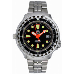 Tauchmeister T0078M combat diver watch 100 ATM