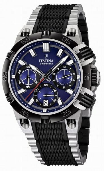 Festina Festina F16775/2 Tour de France 2014 chronograph watch blue
