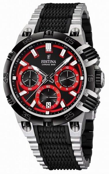 Festina Festina F16775/8 Tour de France 2014 Chronograph Uhr Rot