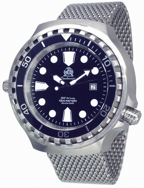 Tauchmeister Tauchmeister T0254MIL automatic XXL diver watch 100 ATM