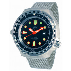 Tauchmeister T0255MIL automatic XXL diver watch 100 ATM