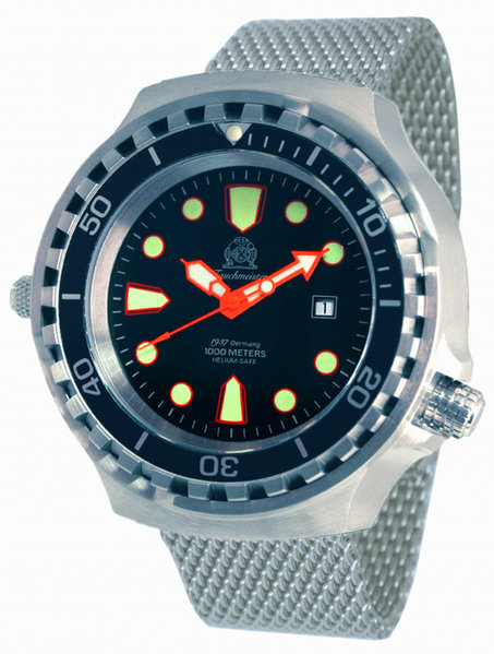 Tauchmeister Tauchmeister T0255MIL automatic XXL diver watch 100 ATM