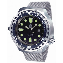 Tauchmeister T0256MIL automatic XXL diver watch 100 ATM