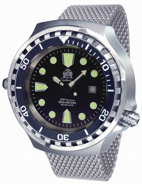 Tauchmeister Tauchmeister T0256MIL automatic XXL diver watch 100 ATM