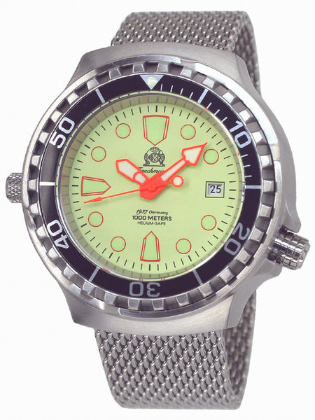 Tauchmeister Tauchmeister T0228MIL  automatic diver watch 100 ATM