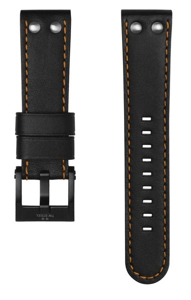 TW Steel TW Steel CEB106 watch strap black 22 mm
