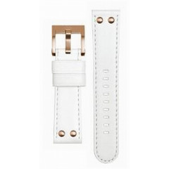 TW Steel CEB109 watch strap white 22 mm