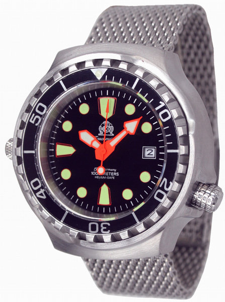 Tauchmeister Tauchmeister T0079MIL automatic professional diver watch 100 ATM