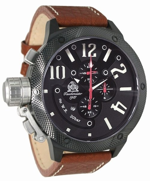 Tauchmeister Tauchmeister U-boot XL Chronograph Uhr T0223b
