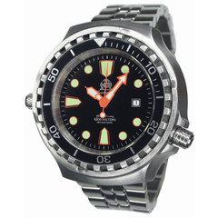 Tauchmeister T0255M automatic XXL diver watch 100 ATM