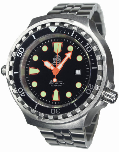 Tauchmeister Tauchmeister T0255M automatic XXL diver watch 100 ATM