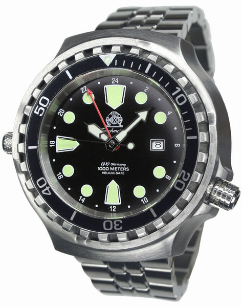 Tauchmeister Tauchmeister T0266M automatic XXL diving watch 100ATM