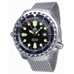 Tauchmeister T0266MIL XXL automatic diving watch 100ATM