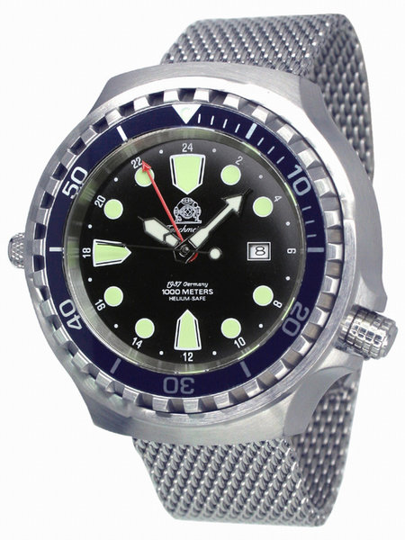 Tauchmeister Tauchmeister T0266MIL XXL automatic diving watch 100ATM