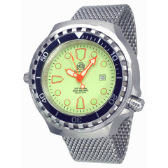 Tauchmeister T0269MIL automatic XXL diver watch 100ATM