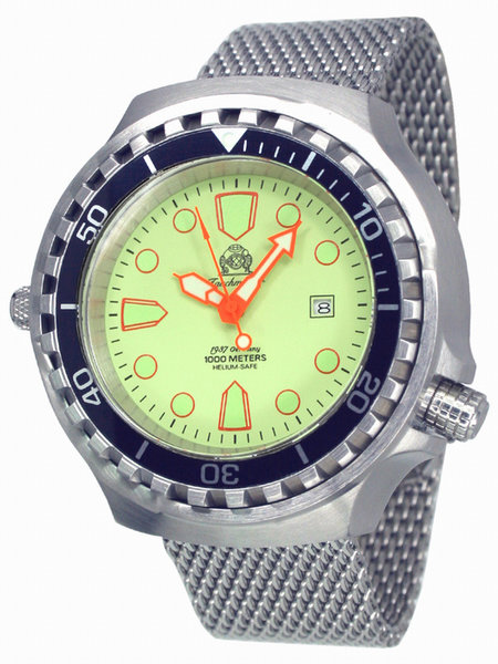 Tauchmeister Tauchmeister T0269MIL automatic XXL diver watch 100ATM