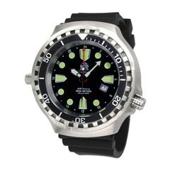Tauchmeister T0275 Ronda GMT XXL diver watch 100 ATM