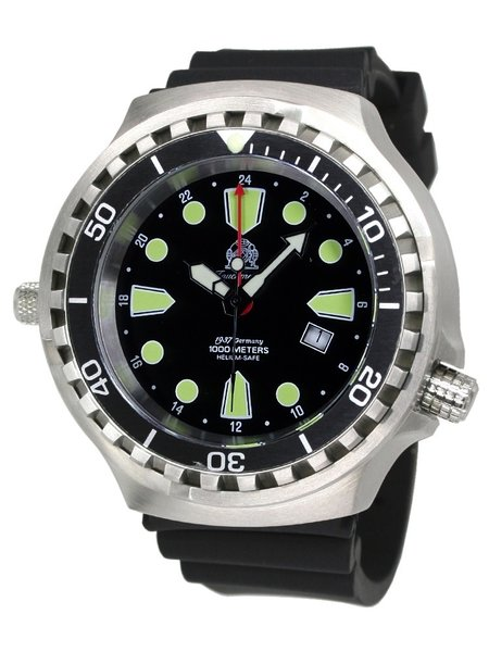 Tauchmeister Tauchmeister T0275 Ronda GMT XXL diver watch 100 ATM