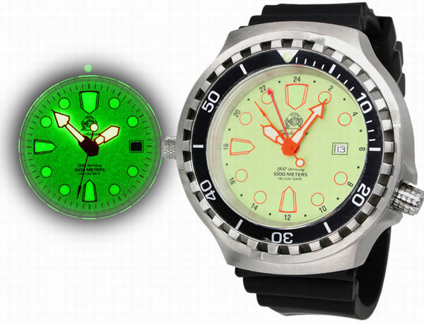 Tauchmeister Tauchmeister T0276 XXL diver watch 100ATM