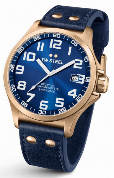 TW Steel TW Steel CE6001 Pilot men´s watch Swiss Made 48mm DEMO