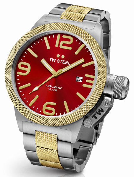 TW Steel TW Steel CB76 Canteen Bracelet automatic men's watch 50mm