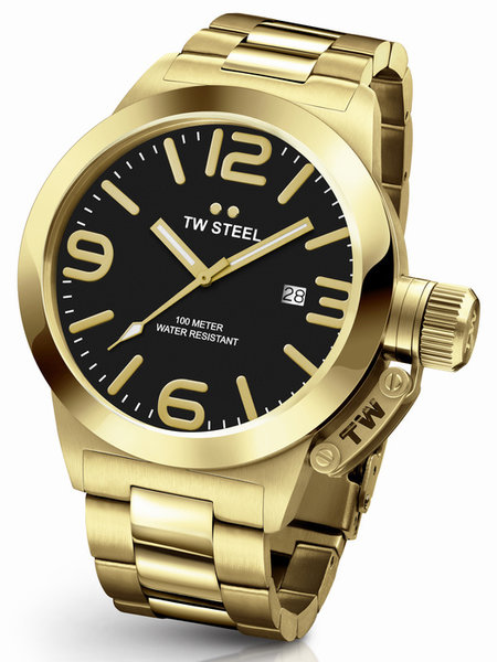 TW Steel TW Steel CB92 Canteen Bracelet men's watch 50mm