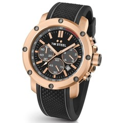 TW Steel TS5 Grandeur Tech chronograph men's watch 48mm