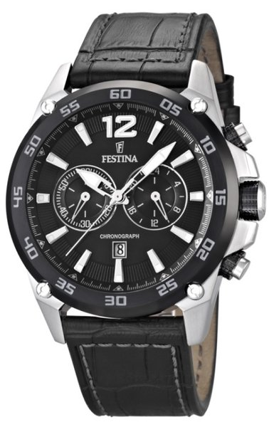 Festina Festina F16673/4 Chronograph XL Herrenuhr 47mm
