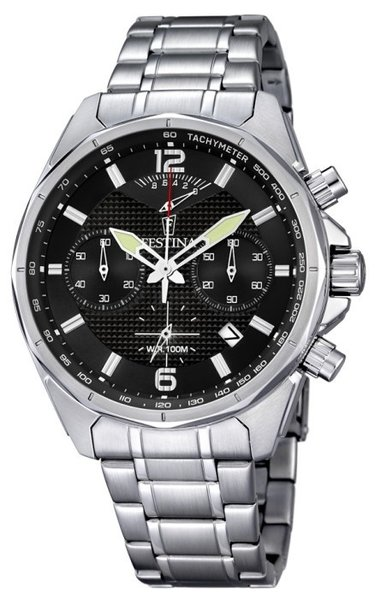 Festina Festina F6835/4 chronograph watch LIMITED EDITION 45mm