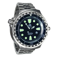 Tauchmeister T0253M Diver Craft XXL steel automatic watch 100ATM