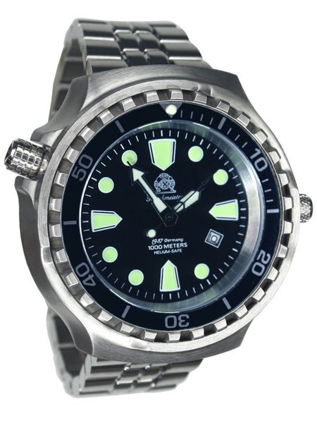 Tauchmeister Tauchmeister T0253M Diver Craft XXL steel automatic watch 100ATM
