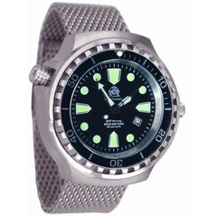 Tauchmeister T0253MIL Diver Craft XXL steel automatic watch 100ATM