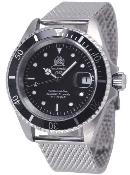 Tauchmeister Tauchmeister T0250MIL Automatic Divers Watch 200m