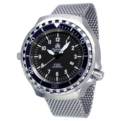 Tauchmeister T0286MIL XXL automatic diver watch 100 ATM