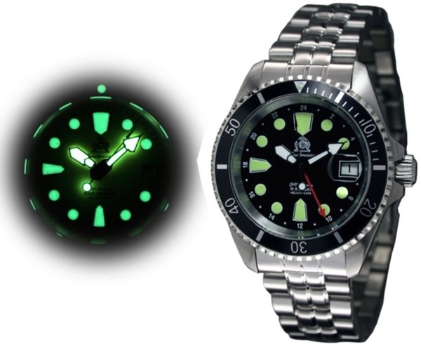 Tauchmeister Tauchmeister T0288 automatic divers watch 20 ATM