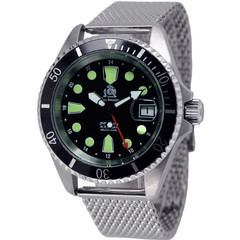 Tauchmeister T0288MIL automatic divers watch 20 ATM