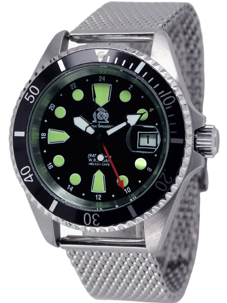 Tauchmeister Tauchmeister T0288MIL automatic divers watch 20 ATM