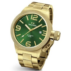 TW Steel CB226 Canteen Bracelet automatic mens watch 50mm