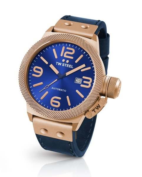 TW Steel TW Steel CS65 Canteen Leather automatic watch 45 mm