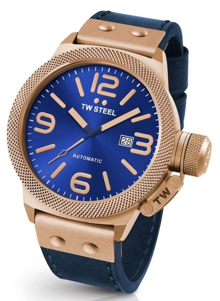 TW Steel TW Steel CS66 Canteen Leather automatic watch 50 mm