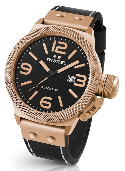 TW Steel TW Steel CS76 Canteen Leather automatic watch 50 mm