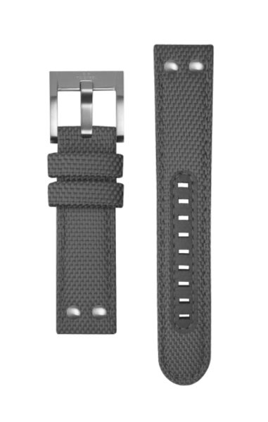 TW Steel TW Steel TWS603 canvas strap dark grey 22 mm