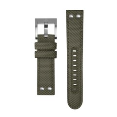TW Steel TWS610 canvas strap green 24 mm