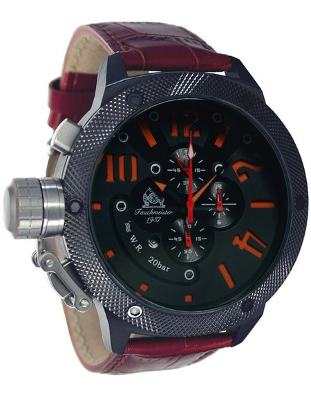 Tauchmeister Tauchmeister U-boat XL Chronograph Uhr T0224B